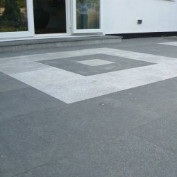 Black Basalt Paving - 600x600mm Single Size Paving