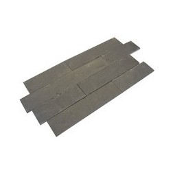 Black Limestone Plank Paving - 200x800mm Single Size Pack