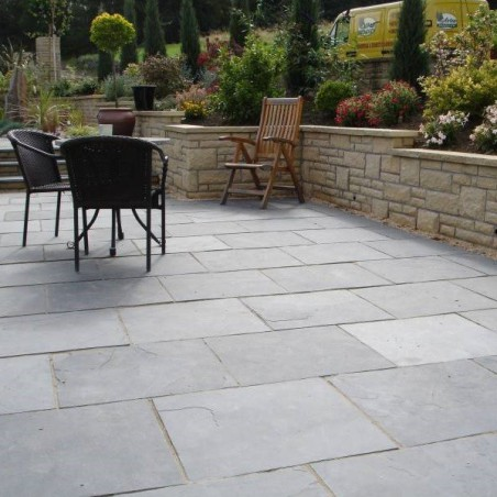 Black Limestone Value Paving - 600x300mm Single Size Pack