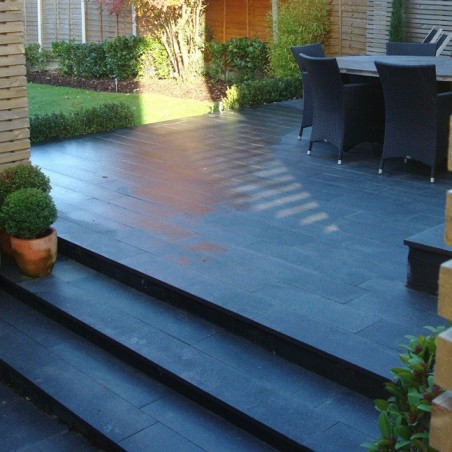 Blue/Grey Granite Plank Paving - 200x800mm Single Size Pack