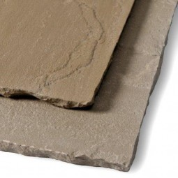 Calibrated Beige Riven Sandstone Patio Pack - Mixed Size Pack