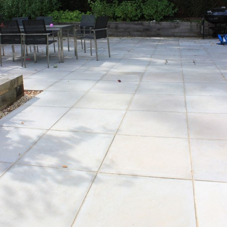 Grey Sawn & Sandblasted Paving - 600x400mm Single Size Pack