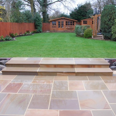 Pink Sawn & Sandblasted Paving - 600x400mm Single Size Pack