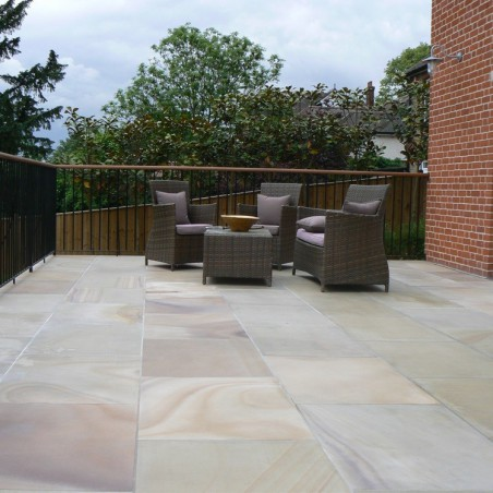 Pink Sawn & Sandblasted Paving - 600x600mm Single Size Pack