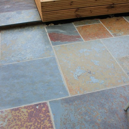 Rustic Slate Paving - 600x400mm Single Size Pack
