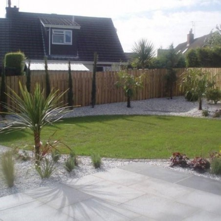 Silver/Grey Granite Paving - 600x800mm Single Size Pack