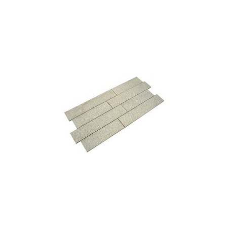 Silver/Grey Granite Plank Paving - 200x800mm Single Size Pack