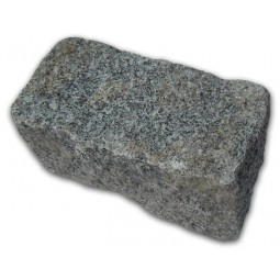 Medium Grey Cropped Granite Setts - 4.3m2 Or 2.15m2 Packs, 100x100x200mm