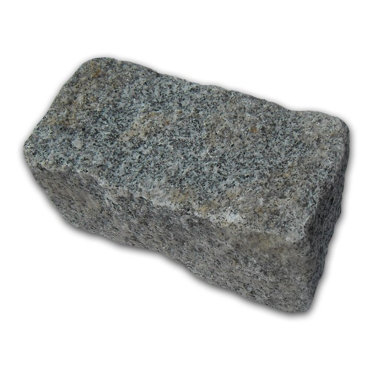 Medium Grey Cropped Granite Setts - 4.3m2 Or 2.15m2 Packs, 100x100x200mm