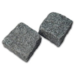 Medium Grey Cropped Granite Setts - 9m2 Or 4.5m2 Packs, 100x50x100mm