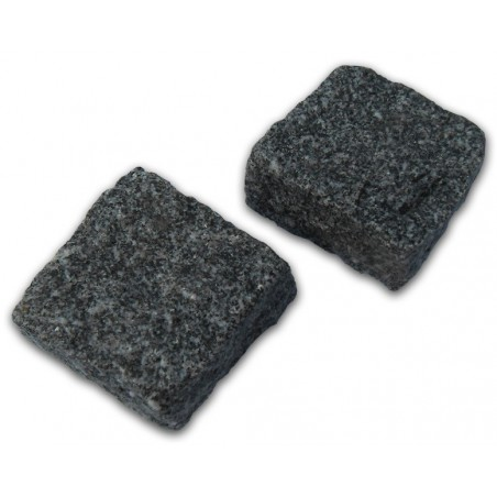Medium Grey Cropped Granite Setts - 9m2 Or 4.5m2 Packs, 100x50x100mm