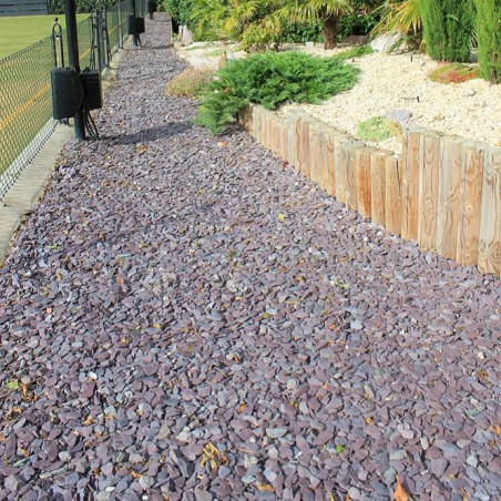 Plum Slate 20mm - Available in poly bags or bulk bags