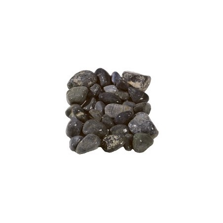 Natural Black Aegean Cobbles 20-40mm - Available in poly bags or bulk bags