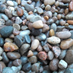Scottish Beach Pebbles 8-14mm - Available in poly bags or bulk bags