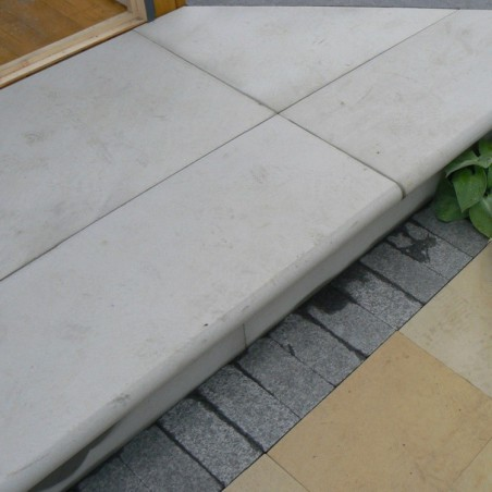 Grey Sawn & Sandblasted Sandstone Steps - 5,10 & 15 unit packs available