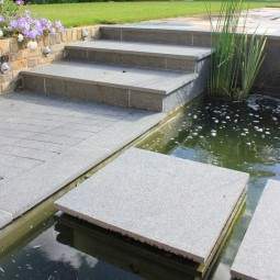 Black Basalt Plank Paving -...