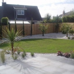 Silver/Grey Granite Paving...