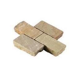Beige Riven Sandstone Setts...