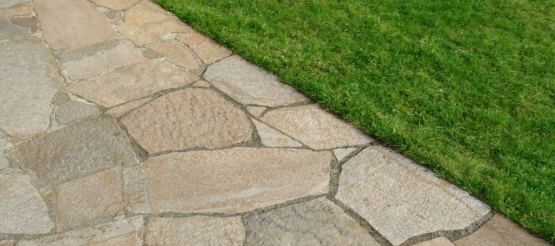 How to care for your natural stone paving